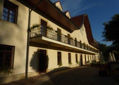 Hotelik w Wieliczce w drodze powrotnej