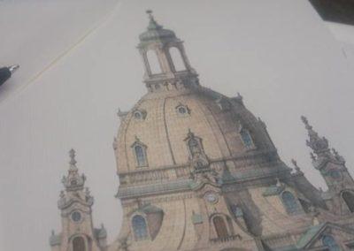 Widokówka z Drezna