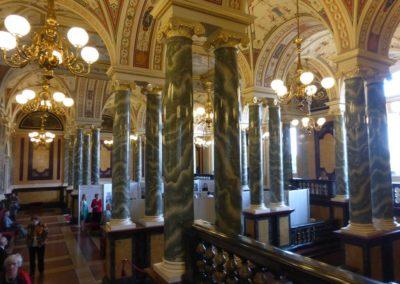 Wnętrze opery drezdeńskiej