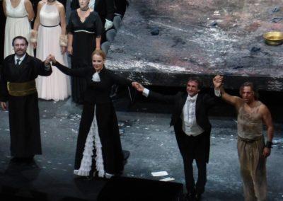 Gwiazdy się kłaniają - Carlos Alvarez, Elina Garanca, Marco Armiliato, Roberto Alagna.
